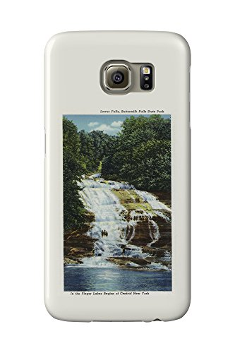 ithaca-new-york-buttermilk-farms-state-park-lower-falls-view-galaxy-s6-cell-phone-case-slim-barely-t