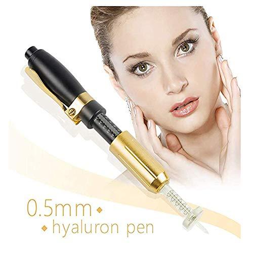 Verjüngungs-kit (BIXINYAAN Hyaluron Pen Ampulle Kopf Massage Zerstäuber Stift Kit Nein Nadel Injektion Anti-Falten Haut Verjüngung)