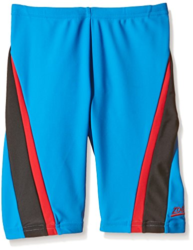 zoggs-boys-swim-deck-eaton-jammer-swimming-trunks-blue-red-black-29-inch-14-15-years