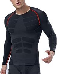 Eulla Hombre Deporte Interior Ciclismo Running Camiseta