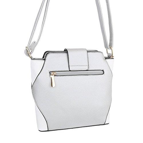 Taschen Umhängetasche Grau