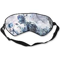 Sleep Eye Mask Gray Geometry Alien Lightweight Soft Blindfold Adjustable Head Strap Eyeshade Travel Eyepatch preisvergleich bei billige-tabletten.eu