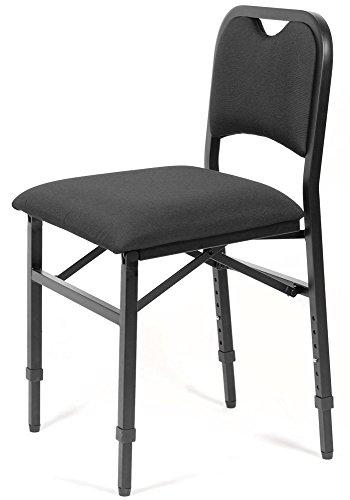 Klappstuhl höhenverstellbar, gepolstert und ergonomisch - VIVO Adjustrite (M)
