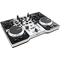 Hercules 4780833 - Controlador DJ (USB, 1.5 GHz, 1 GB), color plateado y negro