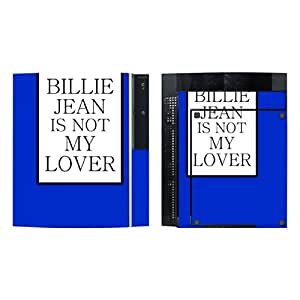 """Disagu Design Skin for Sony PS3 stehend + Controller - motif """"BILLIE JEAN IS NOT MY LOVER"""""""
