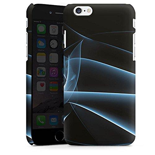 Apple iPhone X Silikon Hülle Case Schutzhülle Rauch Nebel Muster Premium Case matt