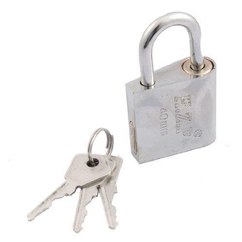 sourcingmap® Unterschrank Fenster oder Tür 6,35 cm hohe 40 mm Breite Security Lock + drei Schlüsseln