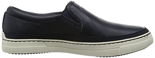 Clarks Ballof Step Herren Slip On Blau (Navy Leather)