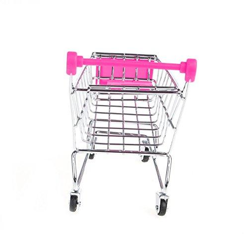 XMTPF Papageienvogel Mini Supermarkt Einkaufswagen Intelligenz Wachstum Training Kinder Spielzeug