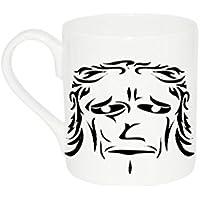 Mug with Apish face (Frown Mug)