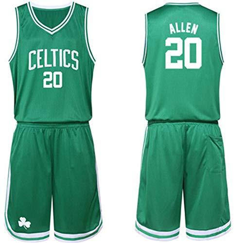 HS-WANG9 Boston Celtics # 20 Ray Allen Uniformes Juego