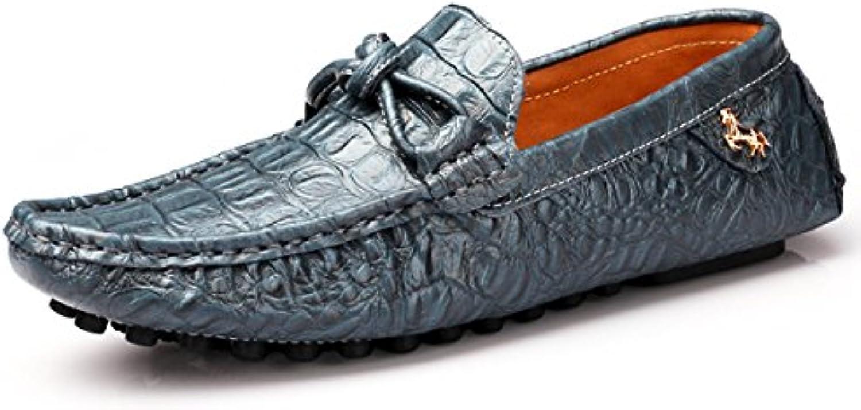 Herbst Und Winter Herrenschuhe England Leder Casual Herrenschuhe Sätze Von Füßen Schuhe Erbsenschuhe