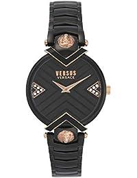 dd42616ac117 Versus Versace Mabillon VSPLH1619 - Reloj de Cuarzo para Mujer (Esfera  Negra)