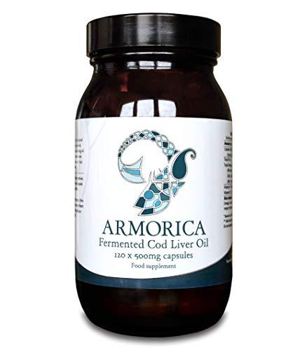 Armorica Aceite de hígado de bacalao fermentado (cápsulas de 120 x 5