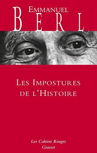 Les impostures de l'histoire par Emmanuel Berl