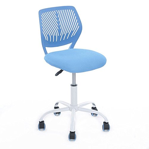 Aingoo Home Office Task Computer Chairs Mid Back Swivel Adjustable for Children Kids Study