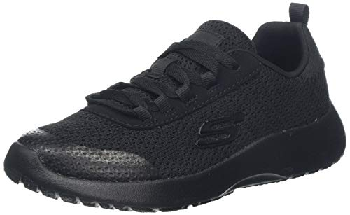 Skechers Jungen Dynamight-Turbo Dash Sneaker, Schwarz Black BBK, 37 EU Turbo Memory