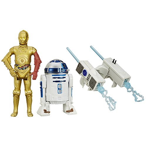 Star Wars The Force Awakens 3.75-inch Snow Mission R2-d2 And C-3po Figure