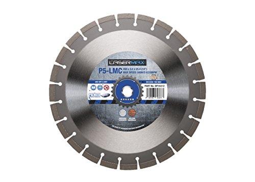 Premier Diamond dp16312p5-lmc Lasermax Klinge für Beton und armiertem Beton, silber, 350x 25,4mm