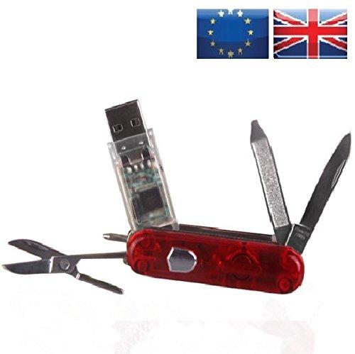 Swiss Army Messer USB Stick 8GB rot 8 gb