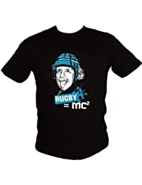 Hasta le Rugby -T-shirt Rugby=MC²
