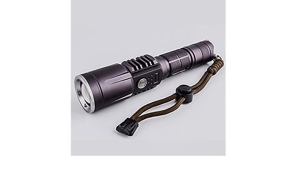 Outdoor taschenlampe t led lumen usb teleskop zoom starkes