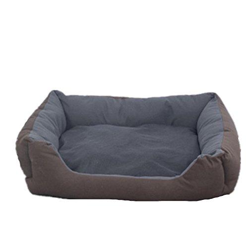 Pelle di Cervo in Tessuto Dell'animale Domestico Comfort Super Soft Soft Stagioni Doghouse Lettiera Schnauzer (Gomma Da Masticare Rosa Pelle)