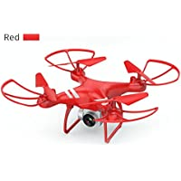 Price comparsion for Fenghong X5C-1 5MP Camera Drone,Four Axes Remote Control Aircraft Gadgets Present Hobbie Toy RC quadcopter(Red)