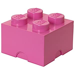 Lego Storage Brick 4 Medium Lt Blu Reale 1 spesavip
