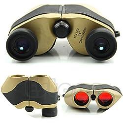 Outdoor Accessories - Prismáticos telescópicos (80 x 120 LED, 5 m-10000 m), Color Dorado