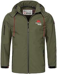 b59e13e75693f2 Arctic Seven Herren Designer Softshell Funktions Outdoor Regen Jacke Sport  AS087