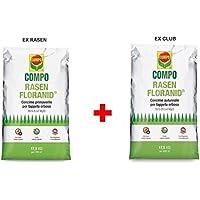 Milo srl Compo Floranid otoñal Ex Club Floranid + Primavera Alfombras erbosi kg. 17,5Rasen
