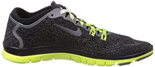 Nike - Free 5.0 TR Fit 4 Print, sneakers  da donna Nero(Schwarz (Medium Ash/Black-Ivory-Volt))