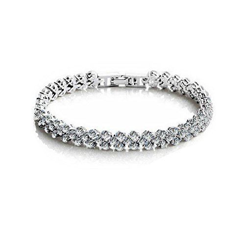 Handkette Armband Kette Damen Charme Elegant Extravagant (Michael Kors-charme-gold)