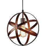 Lampe Suspension Vintage, Retro Lustre Plafonniers, E27 Industrielle éclairage de Plafond pour restaurant bar salle à manger