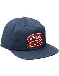 Brixton Dale Snapback Cap Basecap Baseballcap Kappe Baseballkappe Flat Brim Brixton base cap pet snapback cap Snapback