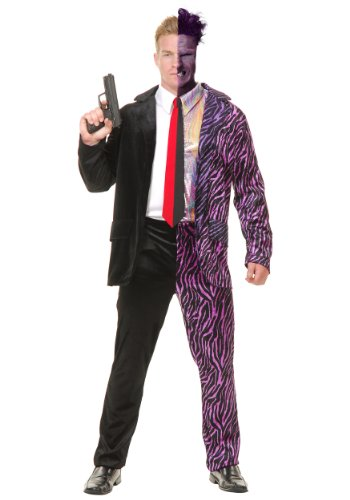 Split Personality Villain Fancy dress costume (Two Face Kostüm)