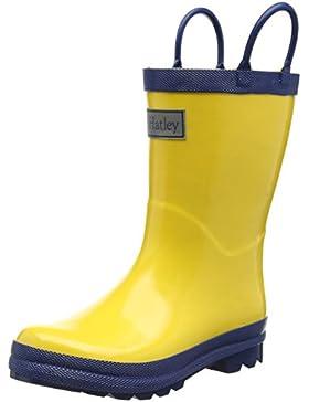 Hatley Rainboots -Yellow & Navy Jungen Stiefel