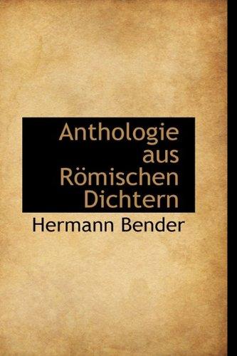 Anthologie aus Römischen Dichtern