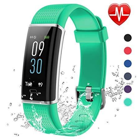 Android iOS Bluetooth Fitness Tracker Uhr mit SIM Slot Kamera Intelligente Universaluhr für iPhone Samsung Huawei für Outdoor Running Sport Damen Frau (Grün 115)