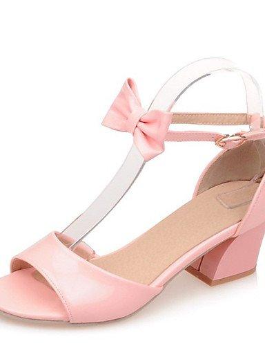 LFNLYX Chaussures Femme-Mariage / Bureau & Travail / Soirée & Evénement / Habillé / Décontracté-Noir / Rose / Blanc-Gros Talon-Compensées / White