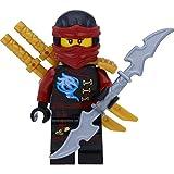 LEGO Ninjago: Minifigur Nya Skybound mit Ninja Doppelklingenschwert