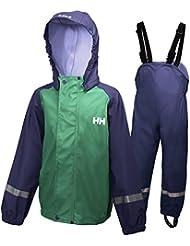 Helly Hansen K Voss rainset–Ensemble veste et combinaison avec plastron et bretelles pour enfant