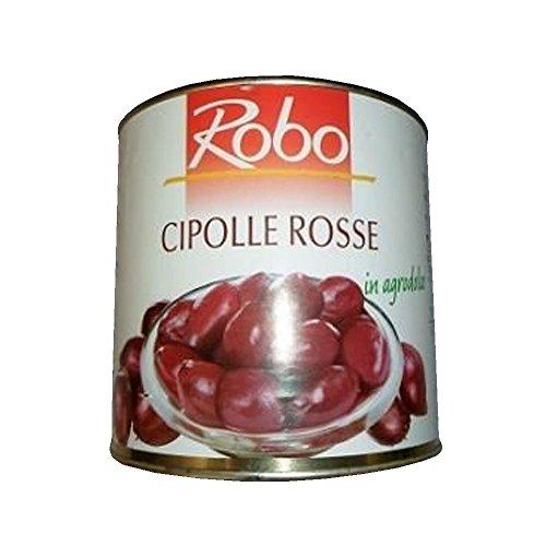 Tropea-Zwiebeln, süß-sauer in Rotweinessig eingelegt, 2,5 kg
