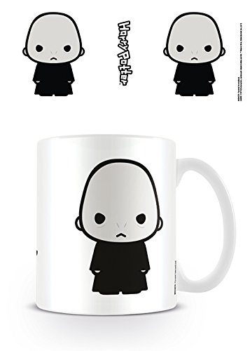 Harry Potter Carcasa Lord Voldemort Taza de cerámica, Multicolor