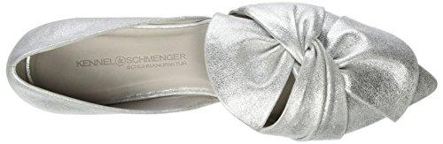 Kennel und Schmenger Schuhmanufaktur Zone, Ballerine Donna Silber (white)