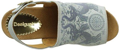 Desigual Swan Elephant, Scarpe Col Tacco con Cinturino a T Donna Blu (blue 5098)