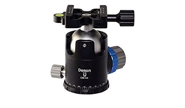 Demon DB-44 44mm Ball Head Arca RRS Compatible w  Pan Lock for Tripod Desmond