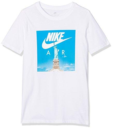 Nike Jungen Sportswear T-Shirt, White, XS