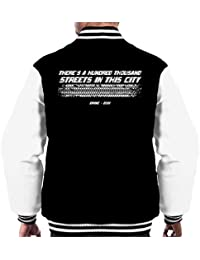Cloud City 7 Drive Movie Opening Line Mens Varsity Jacket